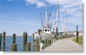 Chincoteague Virginia Fishingboats